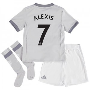 Manchester United Third Mini Kit 2017-18 with Alexis 7 printing