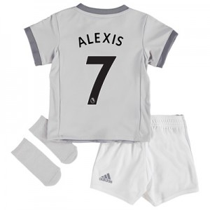 Manchester United Third Baby Kit 2017-18 with Alexis 7 printing