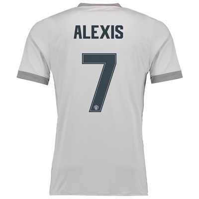 Manchester United Third Cup Shirt 2017-18 with Alexis 7 printing