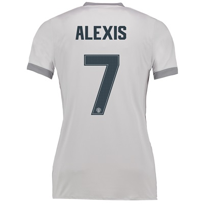 Manchester United Third Cup Shirt 2017-18 – Womens with Alexis 7 print