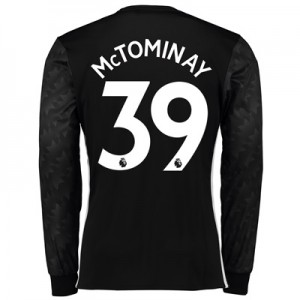 Manchester United Away Shirt 2017-18 – Long Sleeve with McTominay 39 p