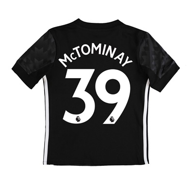 Manchester United Away Shirt 2017-18 – Kids with McTominay 39 printing
