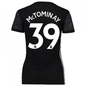 Manchester United Away Shirt 2017-18 – Womens with McTominay 39 printi