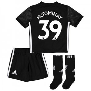 Manchester United Away Mini Kit 2017-18 with McTominay 39 printing