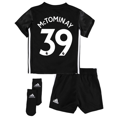 Manchester United Away Baby Kit 2017-18 with McTominay 39 printing