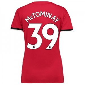 Manchester United Home Shirt 2017-18 – Womens with McTominay 39 printi