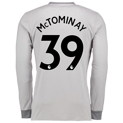 Manchester United Third Shirt 2017-18 – Long Sleeve with McTominay 39
