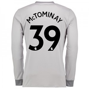 Manchester United Third Shirt 2017-18 – Kids – Long Sleeve with McTomi