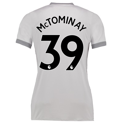 Manchester United Third Shirt 2017-18 – Womens with McTominay 39 print