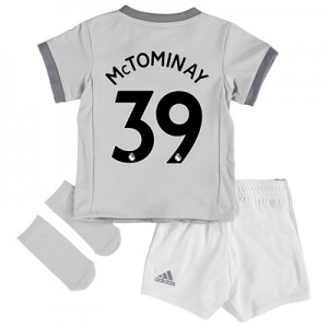 Manchester United Third Baby Kit 2017-18 with McTominay 39 printing