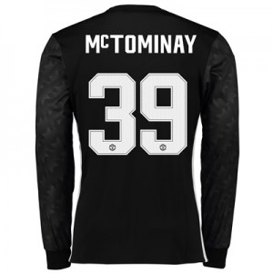 Manchester United Away Cup Shirt 2017-18 – Long Sleeve with McTominay