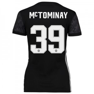 Manchester United Away Cup Shirt 2017-18 – Womens with McTominay 39 pr
