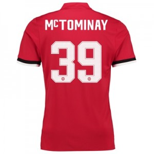 Manchester United Home Cup Shirt 2017-18 – Kids with McTominay 39 prin