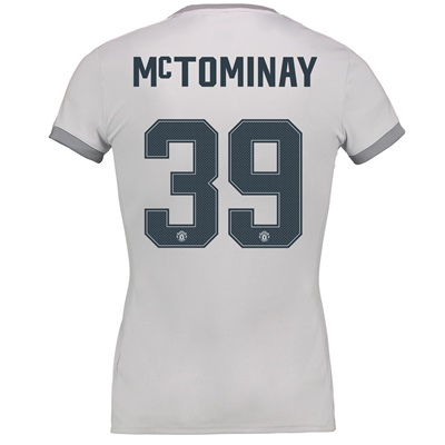 Manchester United Third Cup Shirt 2017-18 – Womens with McTominay 39 p