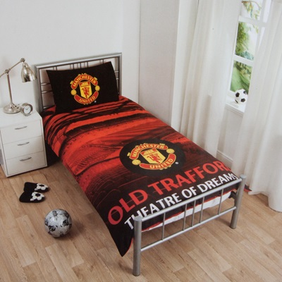 Manchester United Stadium Duvet Set – Single