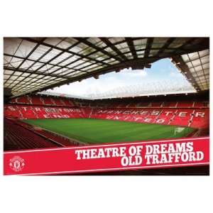 Manchester United Poster – Theatre of Dreams – 61 x 92cm