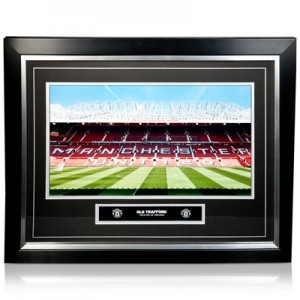 Manchester United Old Trafford Luxury Framed Print – 20 x 16