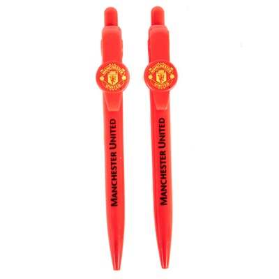 Manchester United Crest Pen Set