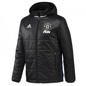 Manchester United Training Padded Jacket – Black