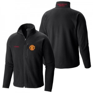 Manchester United Columbia Fast Trek II Full Zip Fleece Jacket - Black - Mens