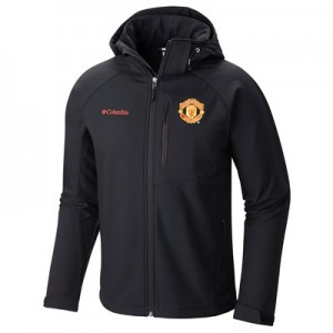 Manchester United Columbia Cascade Ridge II Sofshell Jacket – Black –