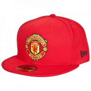 Manchester United New Era 59FIFTY Fitted Cap – Red – Adult