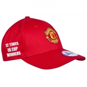 Manchester United FA Cup Winners New Era Basic 9FORTY Adjustable Cap –