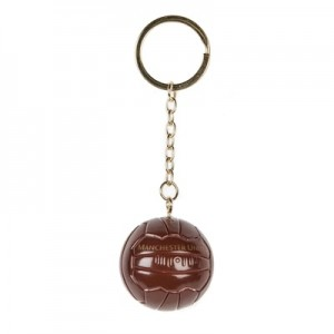 Manchester United Heritage Football Keyring