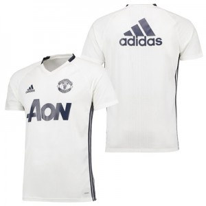 Manchester United Training Jersey – White