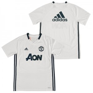 Manchester United Training Jersey – White – Kids