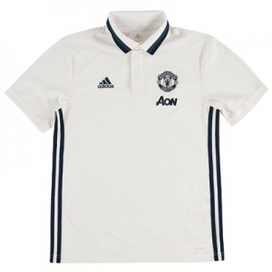 Manchester United Training Polo – White – Kids