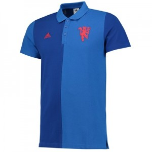 Manchester United Polo – Royal Blue