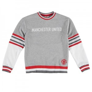 Manchester United Sports Sweatshirt – Grey – Girls