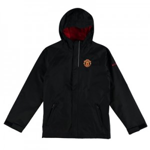 Manchester United Columbia Fast and Curious Jacket – Black – Kids