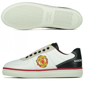 Manchester United Lifestyle Trainers – White – Kids