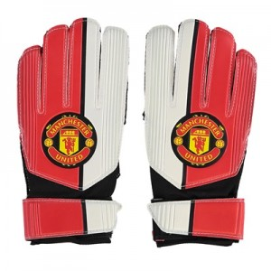 Manchester United Crest Gloves – Youths