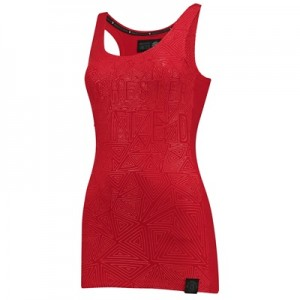 Manchester United Sportswear Racer Back Vest – Red – Womens