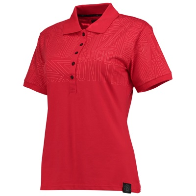 Manchester United Sportswear Polo Shirt – Coral – Womens