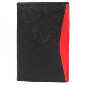 Manchester United Leather Passport Holder