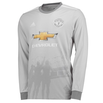 Manchester United Third Shirt 2017-18 – Kids – Long Sleeve