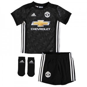 Manchester United Away Baby Kit 2017-18