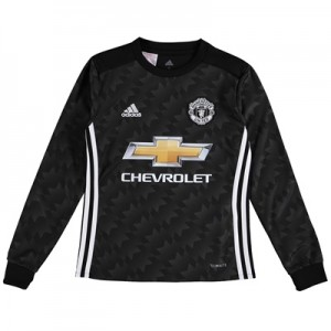Manchester United Away Shirt 2017-18 – Kids – Long Sleeve