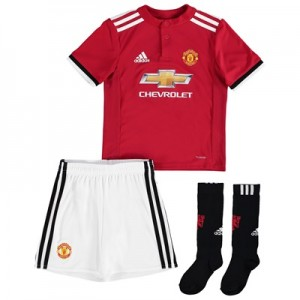 Manchester United Home Mini Kit 2017-18
