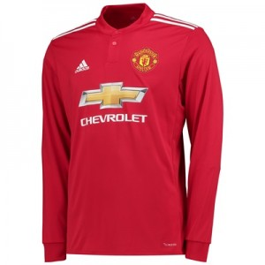 Manchester United Home Shirt 2017-18 – Long Sleeve