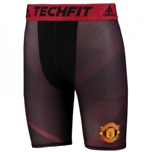 Manchester United TechFit Baselayer Shorts – Black
