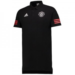 Manchester United UCL Training Polo – Black