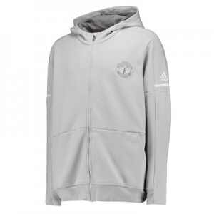 Manchester United Third Anthem Jacket – Light Grey
