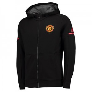 Manchester United Home Anthem Jacket – Black – Kids