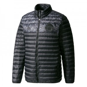 Manchester United Down Jacket – Black
