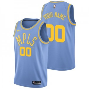 """Los Angeles Lakers Nike Hardwood Classics Nights Swingman Jersey – Cus"""